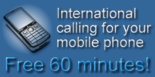 International calling for your mobile phone